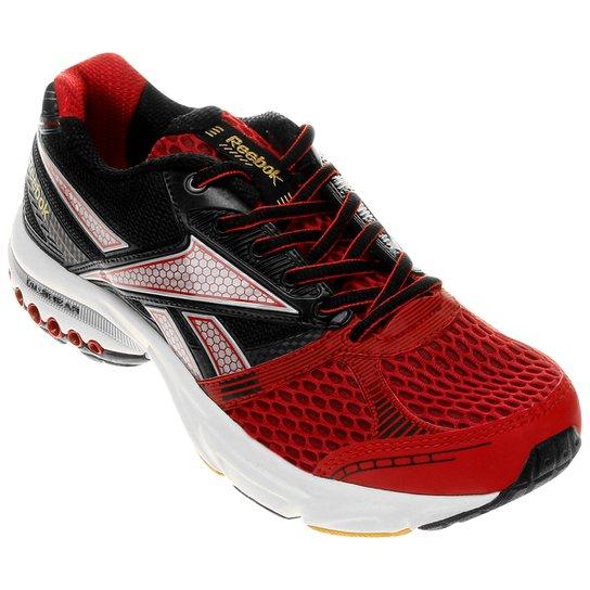 e6a8541a765 Tênis Reebok Dual Up Running Masculino - Preto+Vermelho