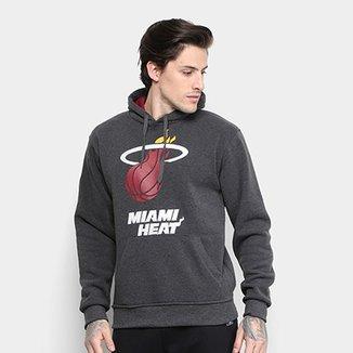 Moletom NBA Miami Heat Masculino 8f4dd1b7b7313