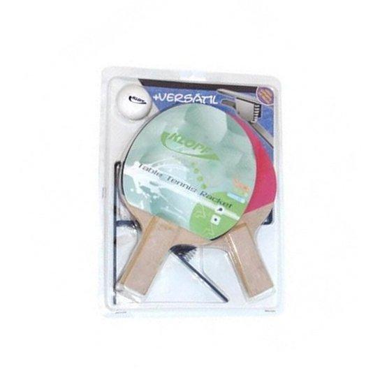 617d5665d Kit Tenis de Mesa Klopf c  2 Raquetes+Bola+Rede+Suporte -