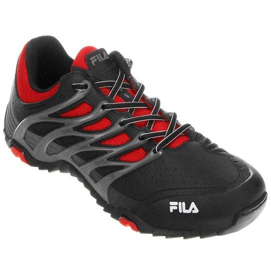 82d24d74ff2 Tênis Fila Range - Preto+Vermelho