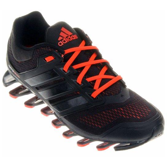 5418520423c Tênis Adidas Springblade 2 Masculino - Preto+Laranja Escuro