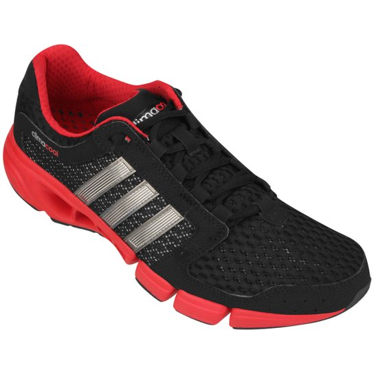 7b53bcc3cfa Tênis Adidas Clima Cool Solution 2.0 - Preto+Vermelho