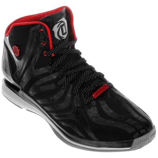 Tênis Adidas D Rose 4.5 - Preto+Vermelho c671a22fec0be