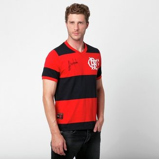 767ecd4743a3f Camiseta Flamengo Retrô Andrade Masculina