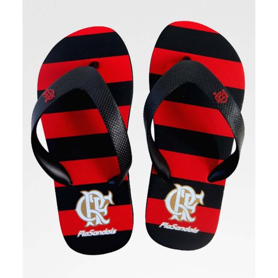 868512e8d Chinelo Flamengo Manto Oficial Kids - Preto e Vermelho | Netshoes