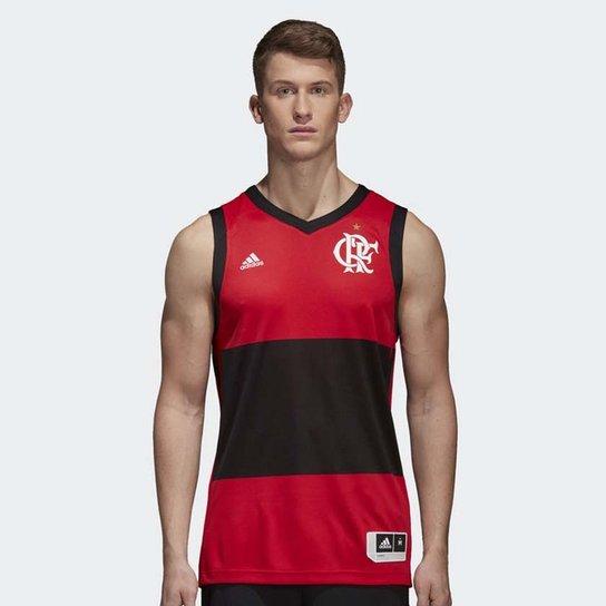 ad6409636b0d0 Regata Flamengo Basquete Jogo 1 2018 - Preto+Vermelho