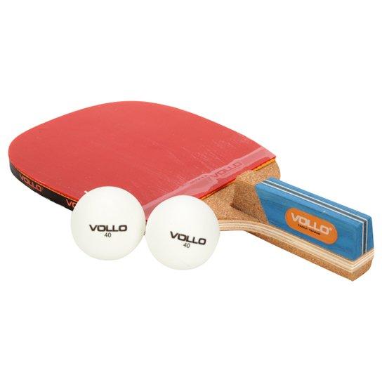 828cf61b8 Raquete Tênis de Mesa Vollo Grand Cherokee c  2 Bolas - Compre Agora ...