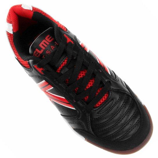 b74ee5f2dee39 ... Chuteira Kelme Alicante Futsal - Preto+Vermelho