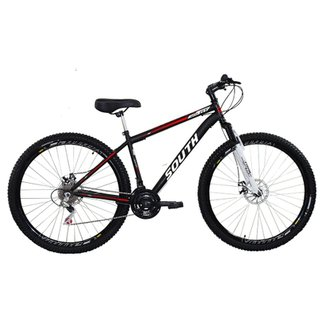 Bicicleta South Hunter GT  2018 - aro 29 - freio a disco - câmbio shimano - 21 marchas