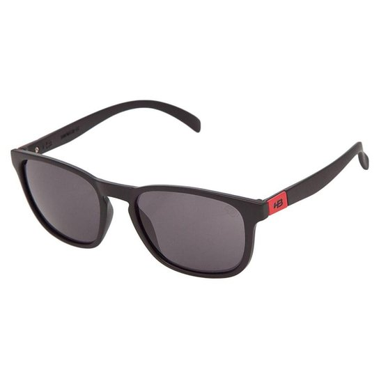 d0b7d9562 Óculos de Sol HB Dingo - Preto+Vermelho