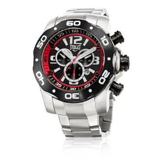 c20069cb932 Relógio Pulso Everlast Masc E595 Cx Pulseira Aço Analógico