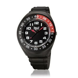 a737fd17ecc Relógio Pulso Everlast Com Pulseira Pu E3011 Masculino