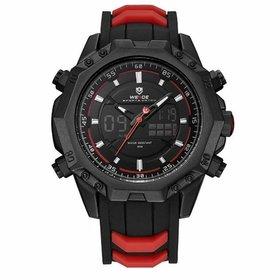 a95cf55cf3d Relógio Weide Anadigi WH6401 Prata e Branco - Prata - Compre Agora ...