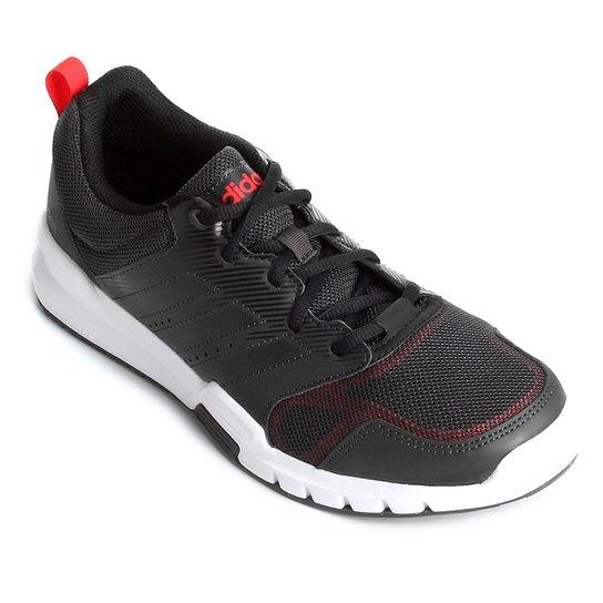 Tênis Adidas Essential Star 3 Masculino - Preto e Vermelho - Compre ... 8c83efdd748c4
