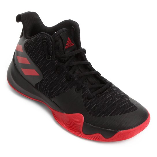 2d4e87e80f0 Tênis Adidas Explosive Flash Masculino - Preto+Vermelho