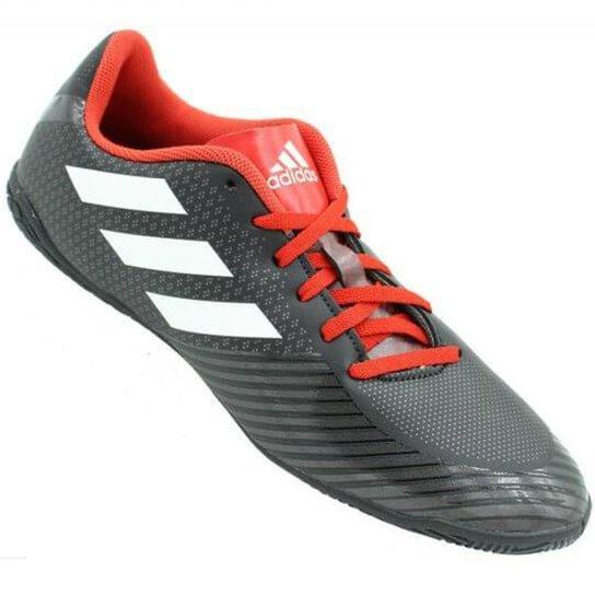Chuteira Futsal Adidas Artilheira III IN - Preto e Vermelho - Compre ... 666b1a74f8238