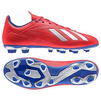 Chuteira Campo Adidas X 18 4 FG 9272c319901a3