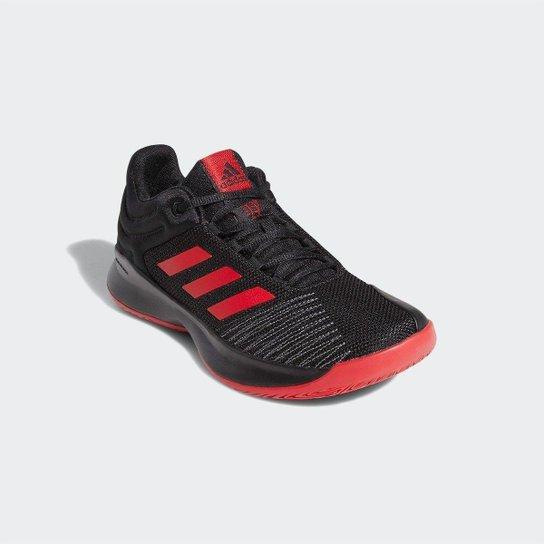 d7dd26034a Tênis Adidas Pro Spark 2018 Masculino - Preto e Vermelho - Compre ...