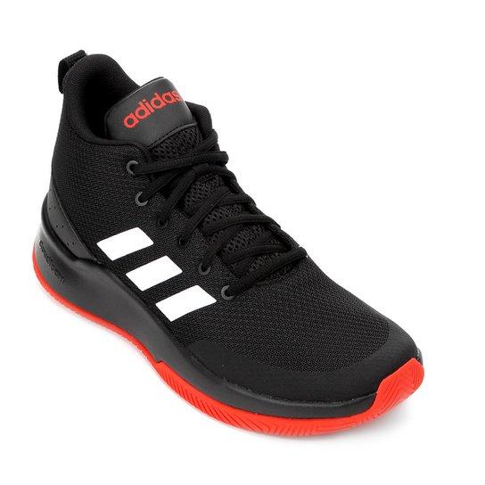 1cfc59e75a0 Tênis Cano Alto Adidas Speed End2End Masculino - Preto e Vermelho ...