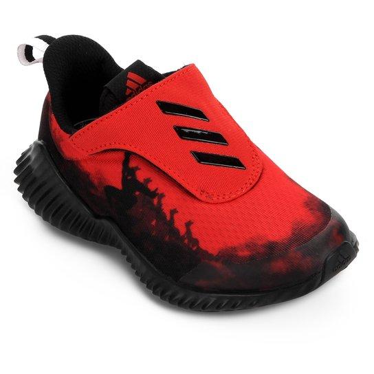 a5044b890e1 Tênis Infantil Adidas FortaRun Personagens Homem-Aranha - Preto+Vermelho