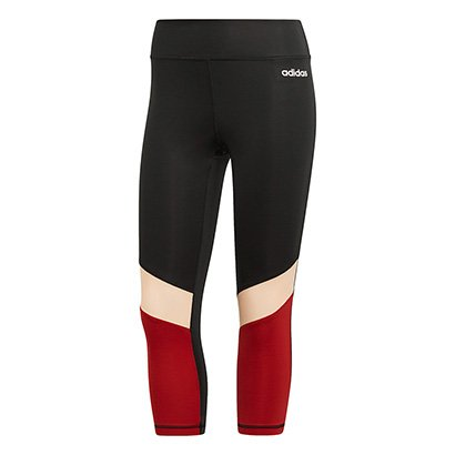 Calça Legging Adidas D2M 3/4 Feminina