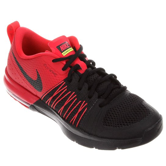 san francisco eeeef 0f474 Tênis Nike Air Max Effort TR - Preto+Vermelho
