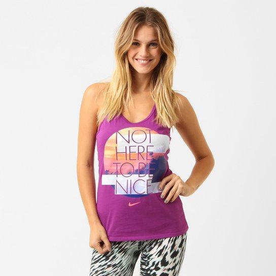 e201e10c2d328 Camiseta Regata Nike Not Nice - Compre Agora