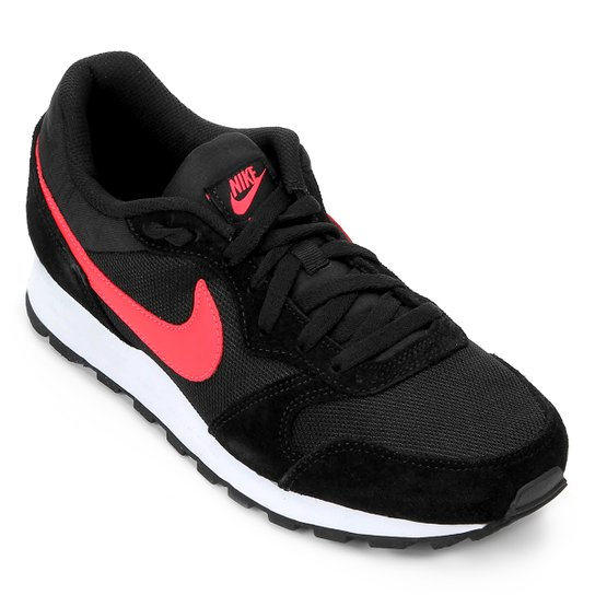 Tênis Nike Md Runner 2 Masculino - Preto e Vermelho - Compre Agora ... aba52427e5fa3