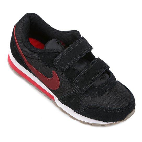 Tênis Infantil Nike Md Runner 2 - Preto e Vermelho - Compre Agora ... e5be9fae7bbf5