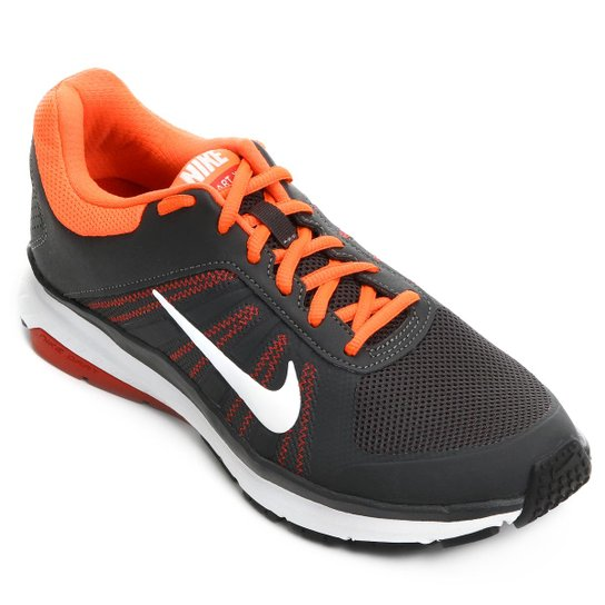 b0d6daa6119 Tênis Nike Dart 12 MSL Masculino - Chumbo e Laranja - Compre Agora ...