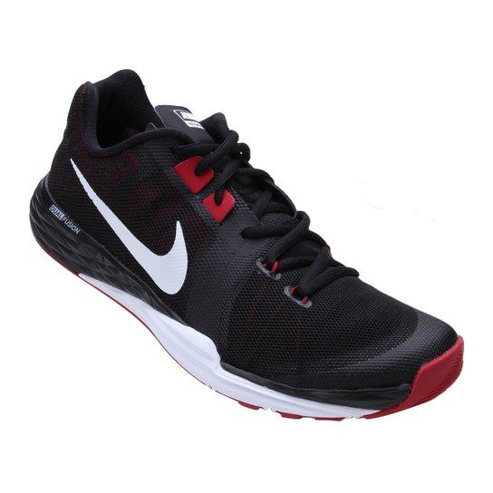 4bf3bb64b1 Tênis Nike Train Prime Iron DF Masculino - Preto e Vermelho - Compre ...