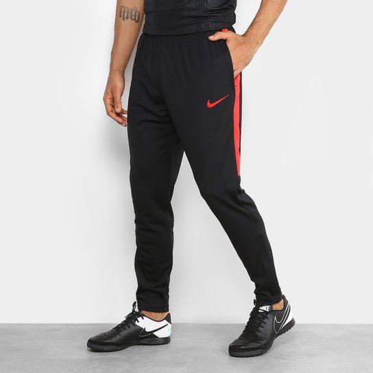 Calça Nike Academy Masculina - Preto+Vermelho d14eab9870c55