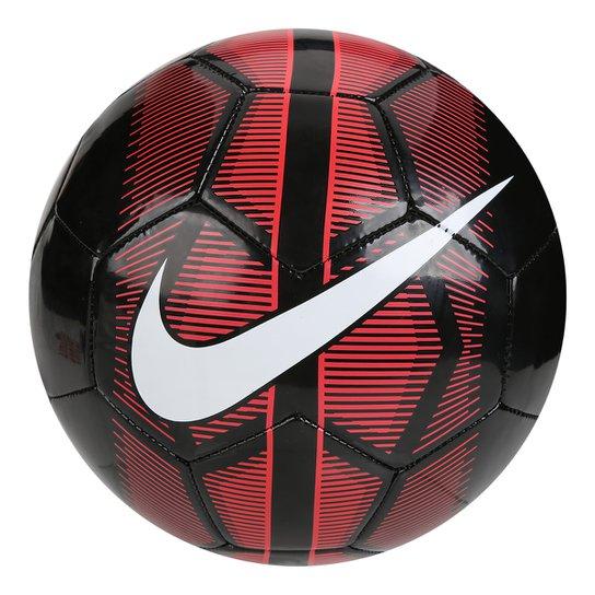 db2d64fd72d9d Bola Futebol Campo Nike Mercurial Fade - Preto e Vermelho - Compre ...