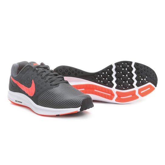 Tênis Nike Downshifter 7 Masculino - Preto+Vermelho 6520df0cb41aa