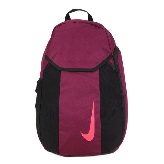 0a8f05db4 Mochila Nike Academy 2.0 - Preto e Vermelho | Netshoes