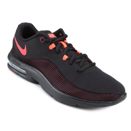456366952d Tênis Nike Air Max Advantage 2 Masculino - Preto e Vermelho - Compre ...