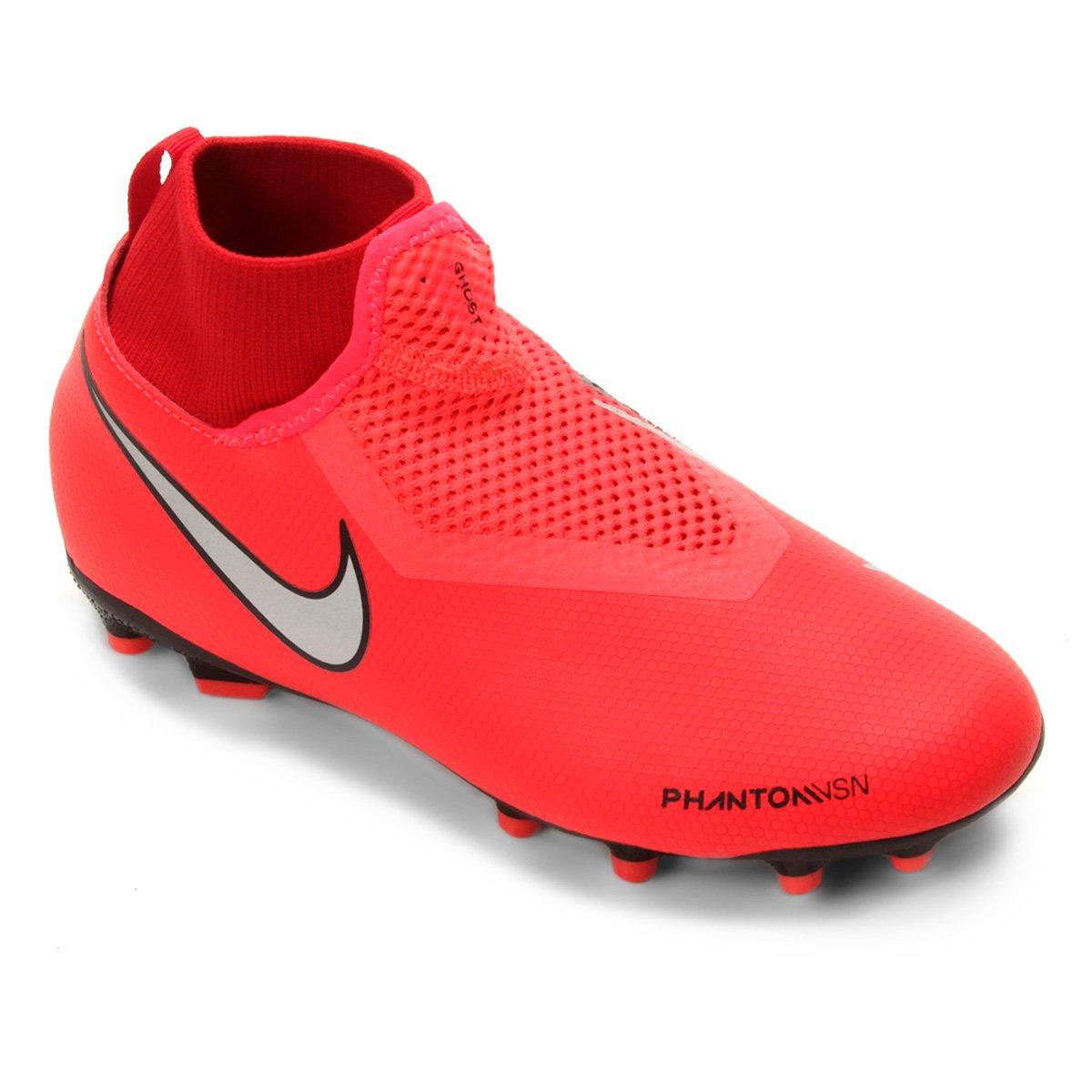 Chuteira Campo Infantil Nike Phantom Vision Academy DF FG 4379c9cd311f3