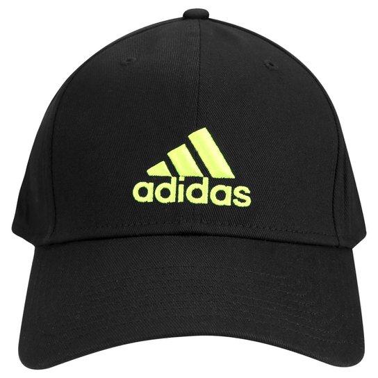 Boné Adidas Aba Curva Basic Logo Masculino - Compre Agora  558df5d2508