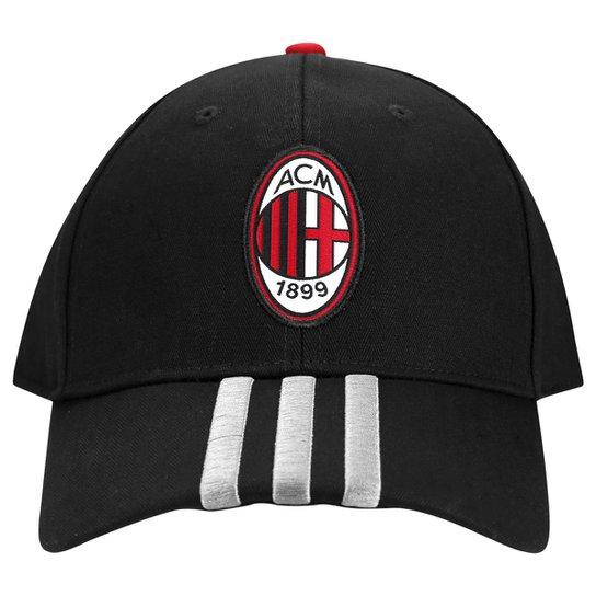 a515c6cde4 Boné Adidas Milan 3S - Preto+Vermelho