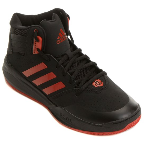 abd533aa23 Tênis Adidas D Rose 773 4 - Preto+Vermelho