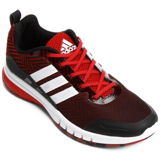 a4fd8fd3892 Tênis Adidas Skyrocket Masculino - Preto e Vermelho - Compre Agora ...