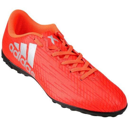 c15706329b Chuteira Society Adidas X 16 4 TF Masculina - Vermelho Claro