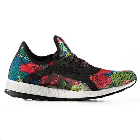 Tenis Running Adidas Pure Boost X Salina - Preto+Vermelho bc69c370da732