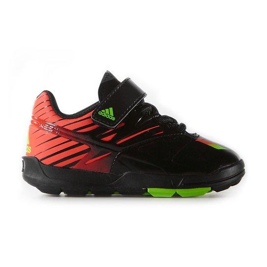 a6a3addc8 Tenis Adidas Messi El I Synth - Preto+Vermelho