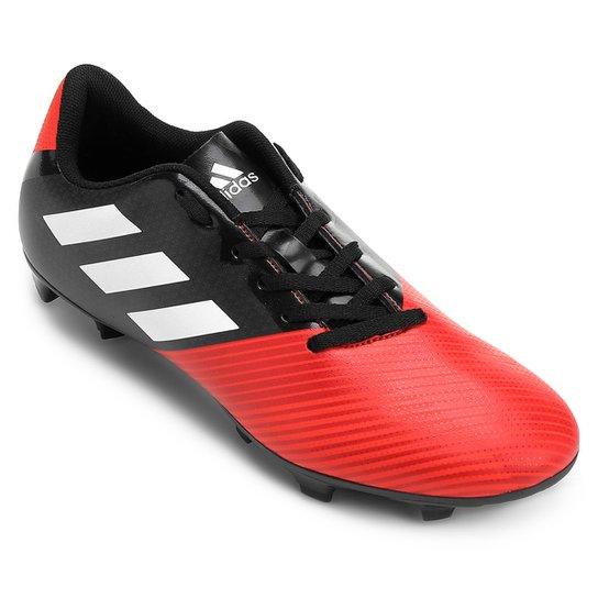 590dae4760742 Chuteira Campo Adidas Artilheira 17 FG - Preto e Vermelho | Netshoes