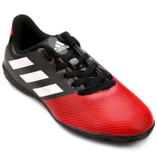 997013815b9bb Chuteira Futsal Infantil Adidas Artilheira 17 IN - Preto e Vermelho