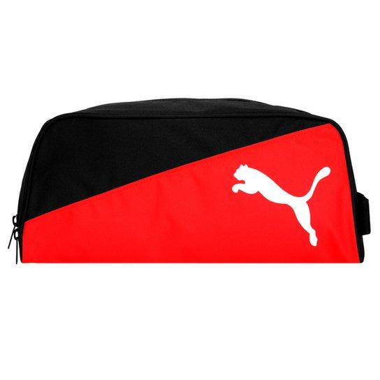 455a80736e683 Porta-Chuteira Puma Training Shoe - Preto+Vermelho