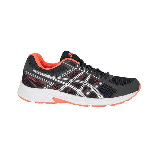 9ae068a9bb9 Tênis Running Asics Gel-Contend 4 - Preto+Vermelho