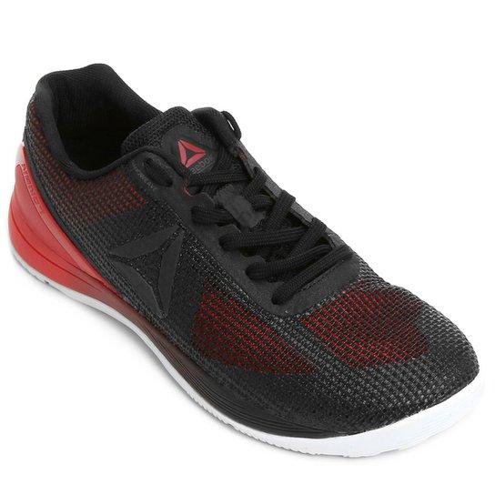 d3702a076cf Tênis Reebok Crossfit Nano 7.0 Masculino - Preto e Vermelho - Compre ...