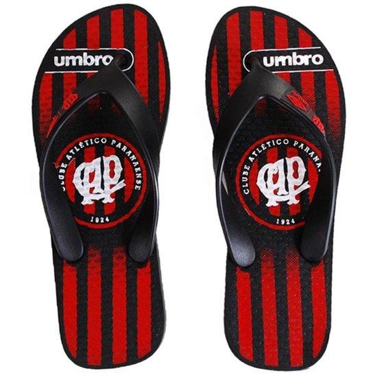 89053697468d1 Chinelo Umbro Athletico Paranaense - Preto+Vermelho